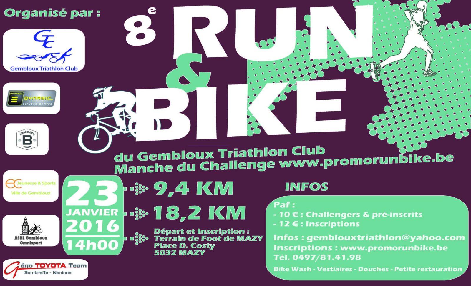 8ème Run & Bike Mazy